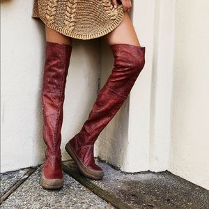 Free People Glacier Pass over the knee boots
